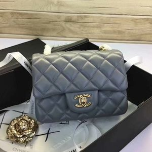 Chanel Mini Flap Bag New Check Description